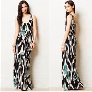 NWT Anthropologie Vanessa Virginia Maxi Dress  XS